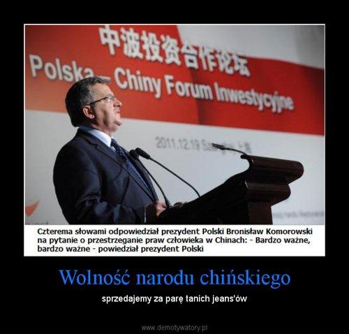 Wolność narodu chińskiego