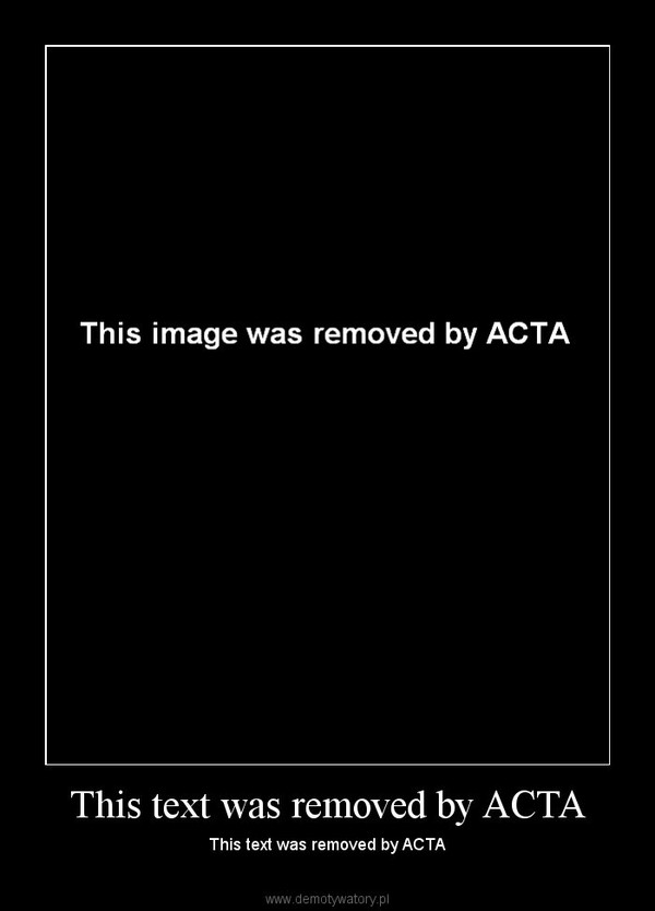 This text was removed by ACTA – This text was removed by ACTA
