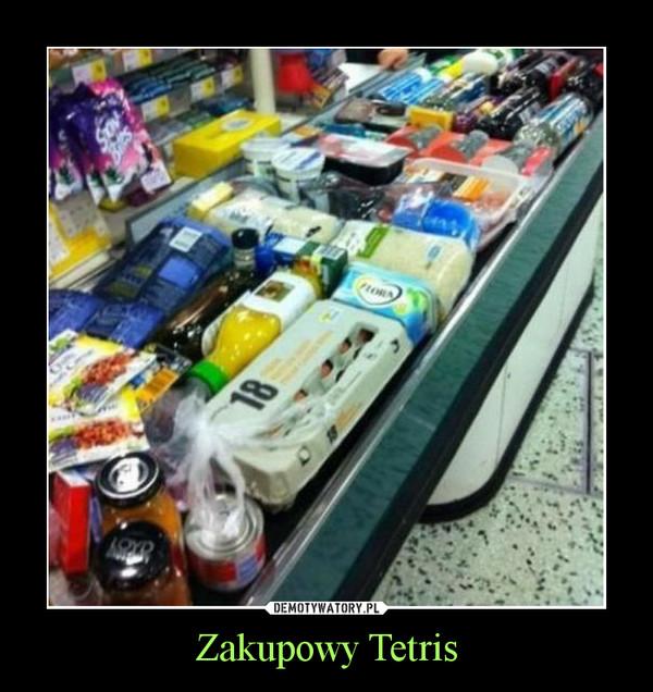 Zakupowy Tetris –