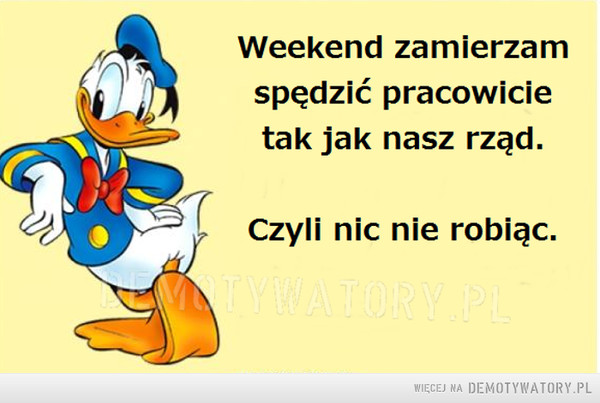 Pracowity weekend –