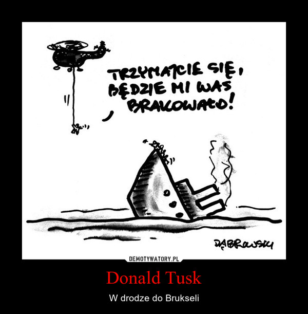 Donald Tusk – W drodze do Brukseli