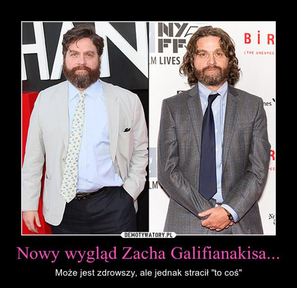 """Nowy wygląd Zacha Galifianakisa... – Może jest zdrowszy, ale jednak stracił """"to coś"""""""