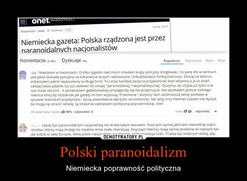 Polski paranoidalizm