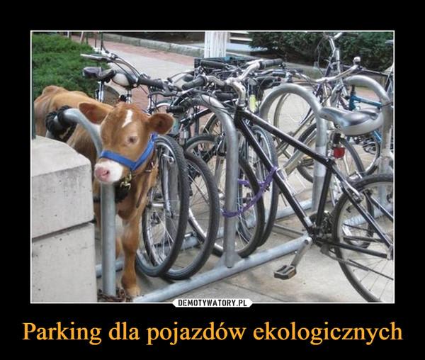 Parking dla pojazdów ekologicznych –
