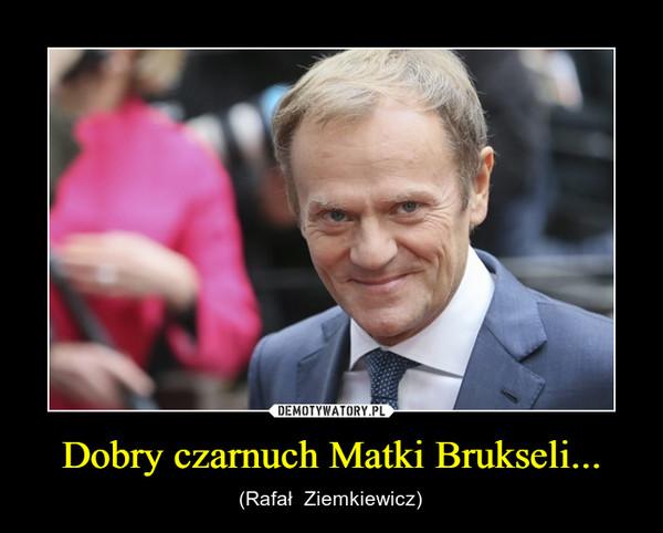 Dobry czarnuch Matki Brukseli... – (Rafał  Ziemkiewicz)