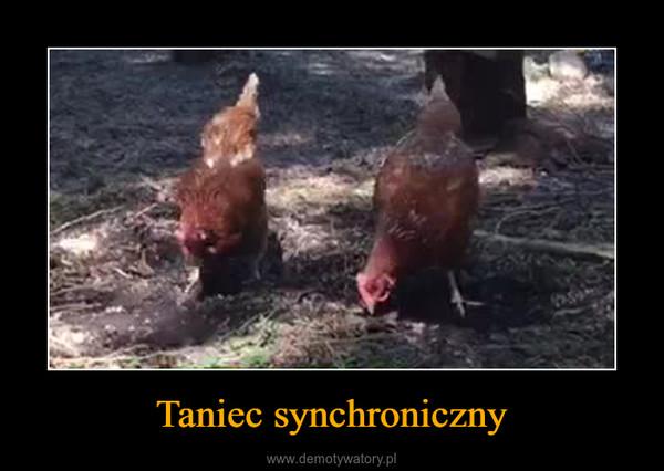 Taniec synchroniczny –
