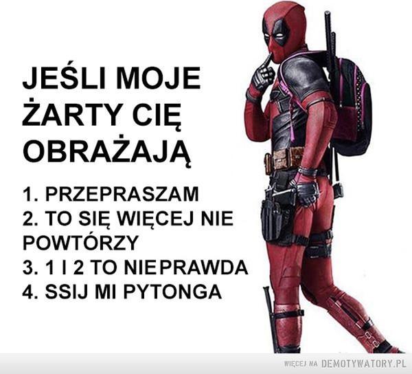 Typowy Deadpool –