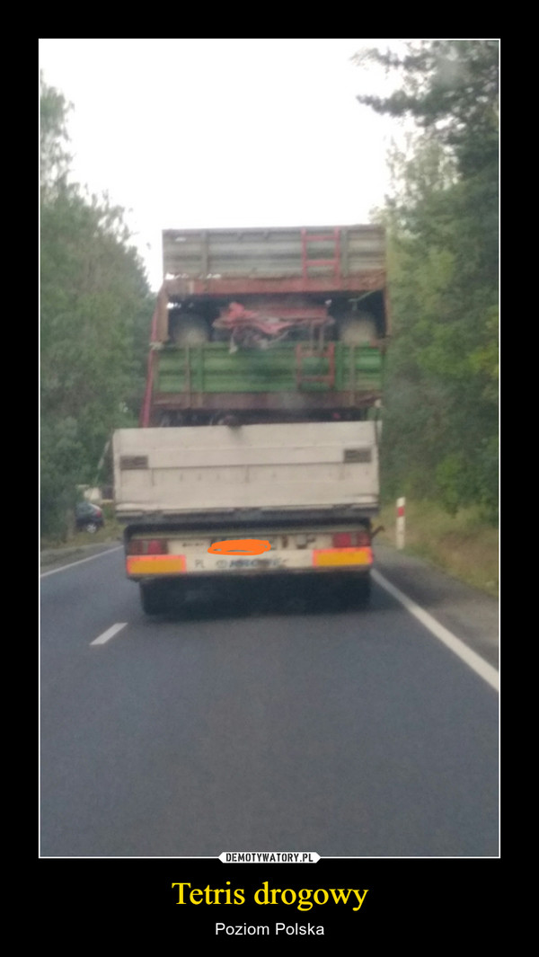 Tetris drogowy – Poziom Polska