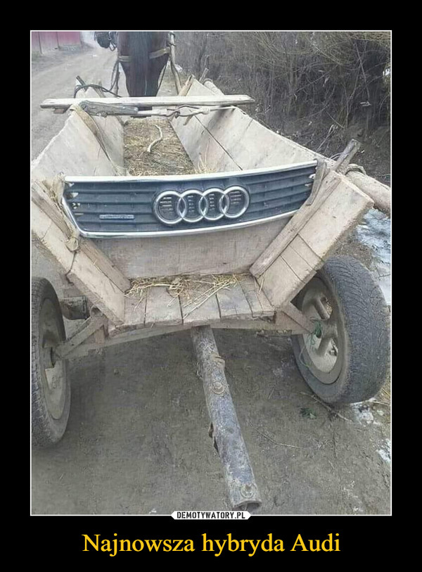 Najnowsza hybryda Audi –