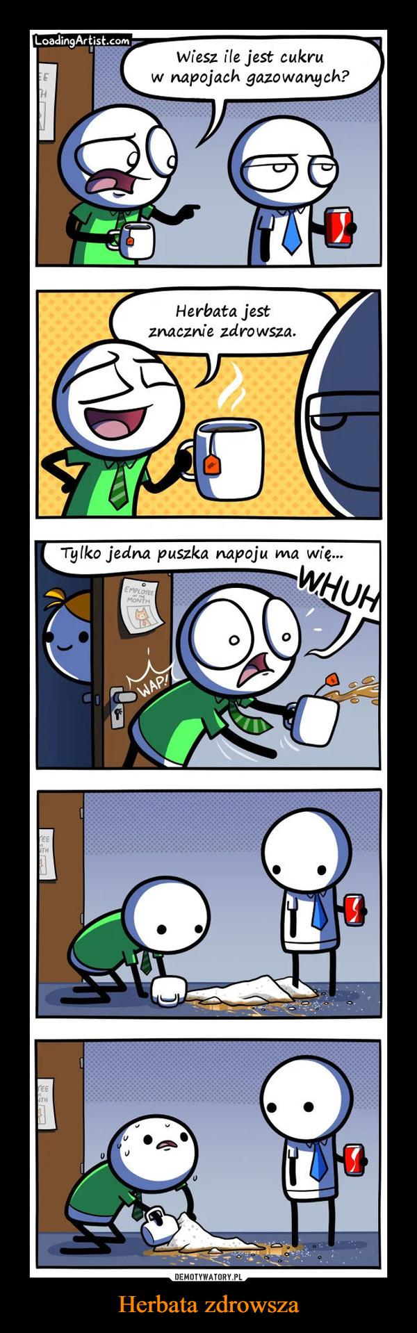 Herbata zdrowsza –