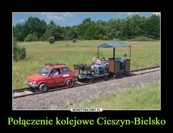 Połączenie kolejowe Cieszyn-Bielsko –