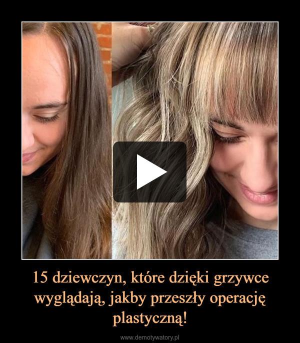 15 dziewczyn, które dzięki grzywce wyglądają, jakby przeszły operację plastyczną! –