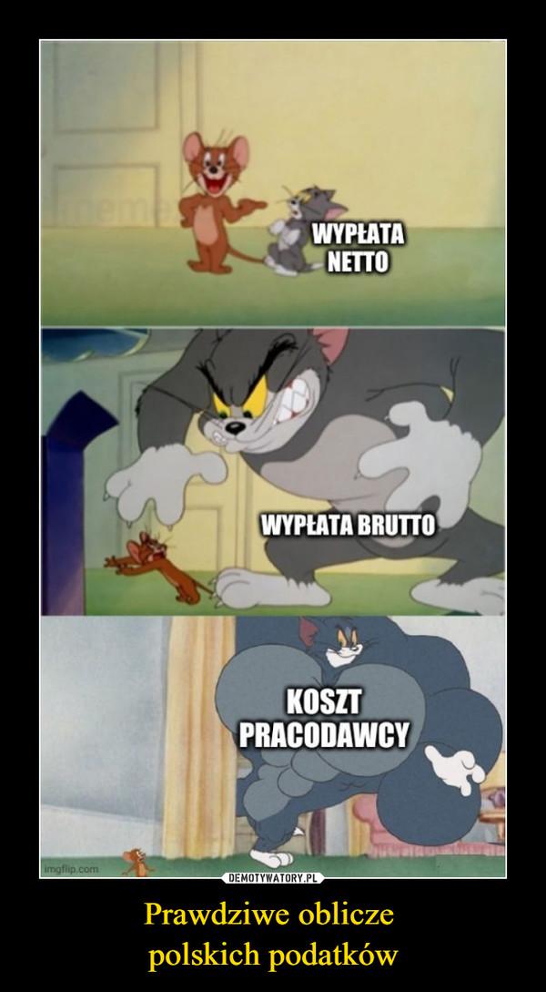 Prawdziwe oblicze polskich podatków –