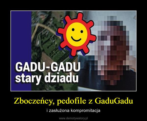 Zboczeńcy, pedofile z GaduGadu – i zasłużona kompromitacja