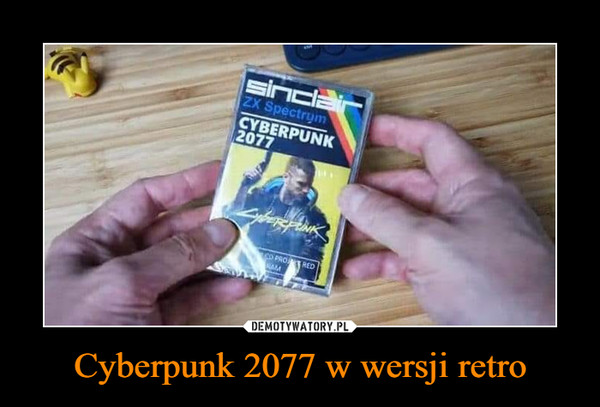 Cyberpunk 2077 w wersji retro –