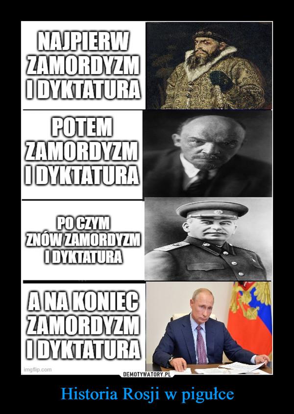 Historia Rosji w pigułce –