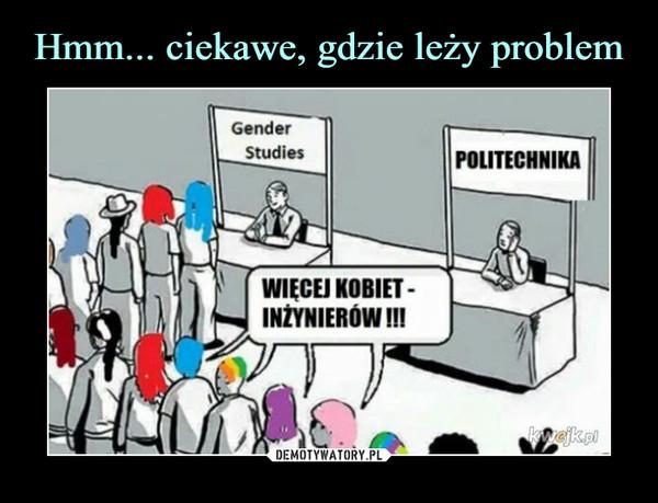 –  Gender StudiesPOLITECHNIKAWIĘCEJ KOBIET - INŻYNIERÓW