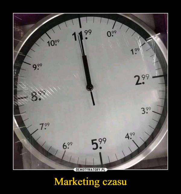 Marketing czasu –