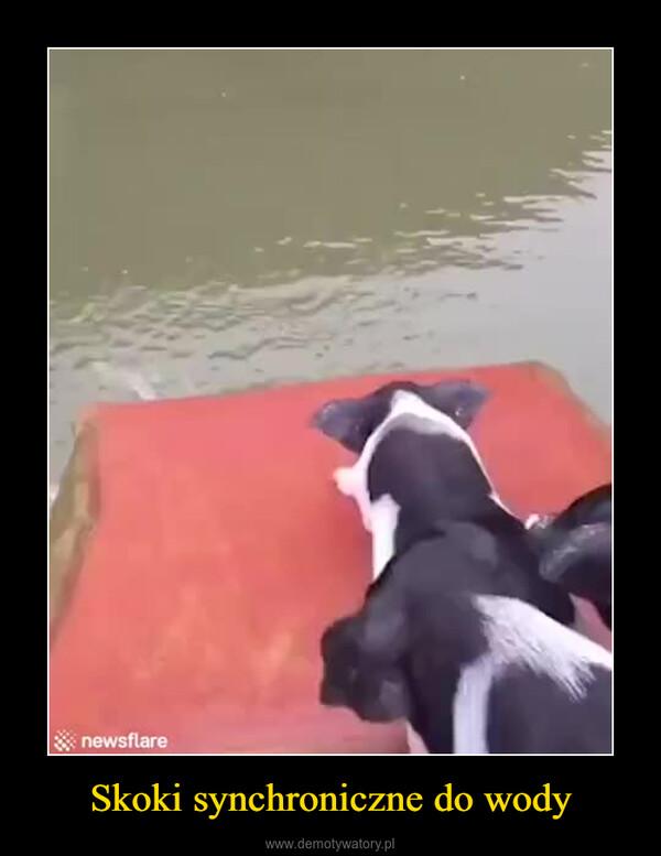 Skoki synchroniczne do wody –